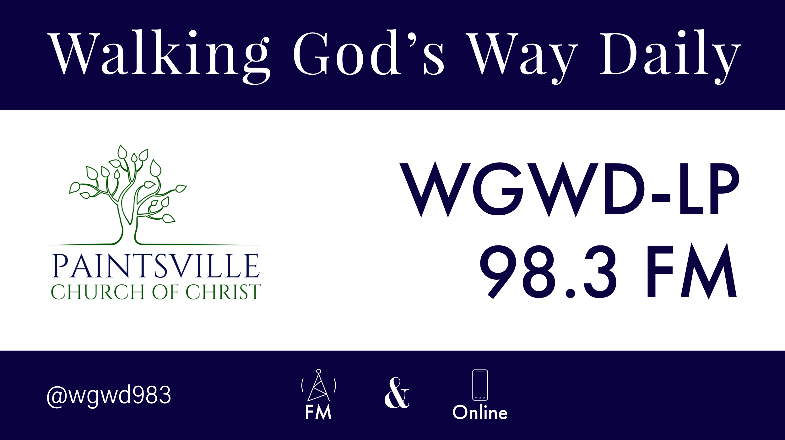 WGWD FM Logo